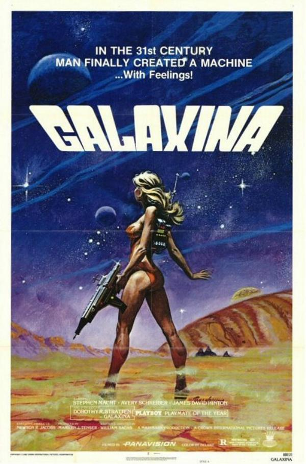 GALAXINA starring DOROTHY STRATTEN